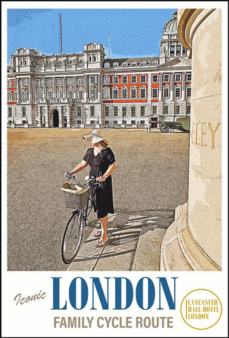 Lancaster Hall Hotel: Guide to the best family cycle route in London.