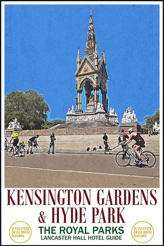 Lancaster Hall Hotel Guide: Things to do in Kensington Gardens & Hyde Park.