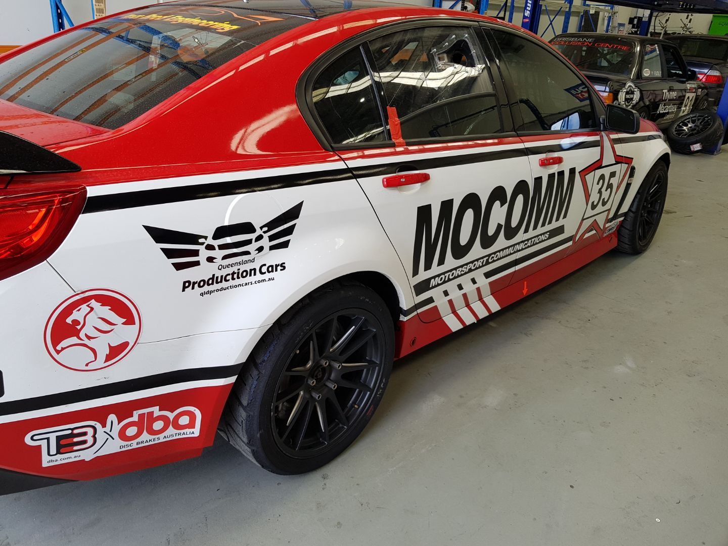 Race Car Wrap Brisbane