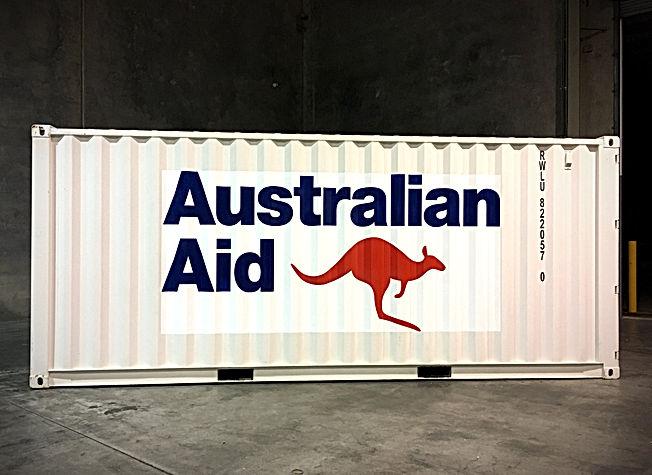 Container Signge Brisbane