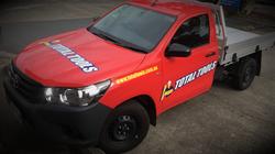 Total Tools Vehicle Signage Brisbane