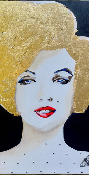 BE GOLD, BE MARILYN