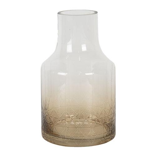 """Vase """"Glenara"""" Rauchglas"""