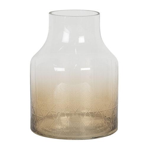 """Vase """"Globe"""" Rauchglas"""
