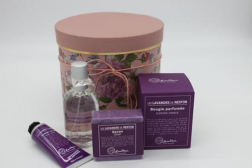 "Geschenkbox mittel Lothantique ""Des Lavendes de Nestor"""