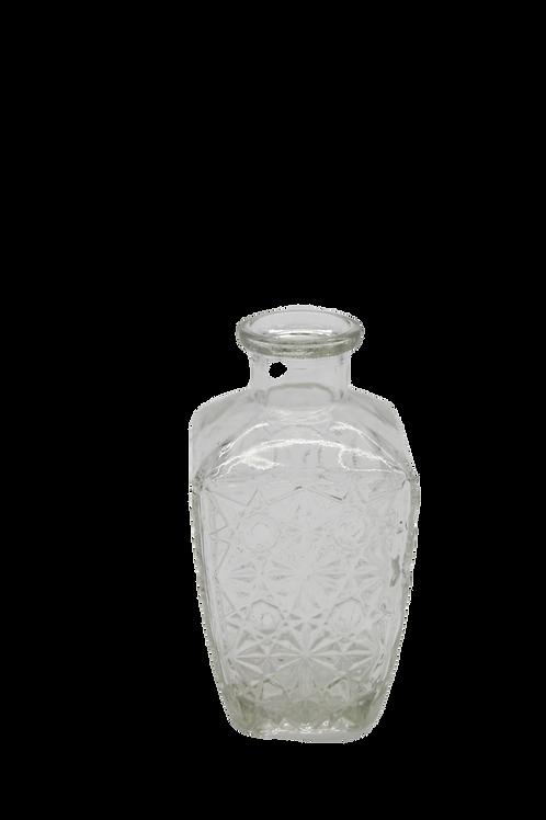 """Pressglas Vase """"Geranium"""""""