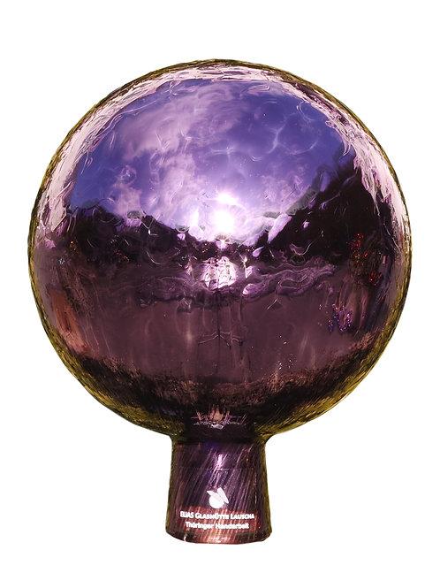 Rosenkugel aus der Farbglashütte Lauscha Venezia violett 15 cm