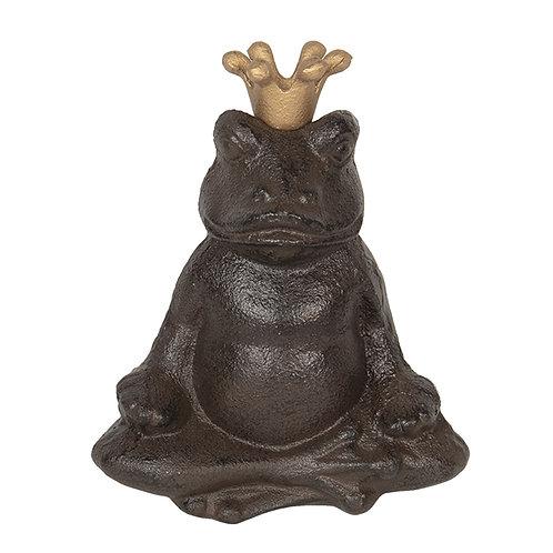 "Gusseisen Yoga Frosch ""Pallas"""
