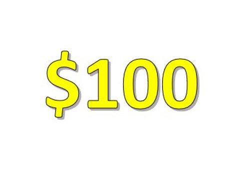 $100 Seniors 2021 Donation