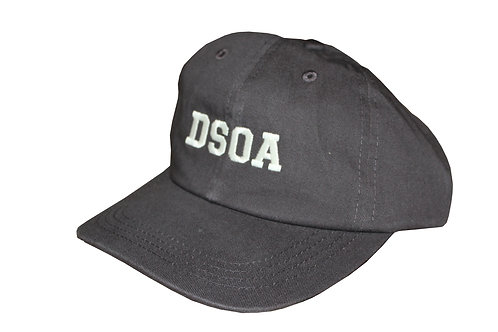 Hat Charcoal Gray with White Stitched Logo