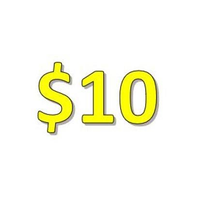 $10 Seniors 2021 Donation