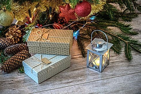 Cadeaux sous l'arbre