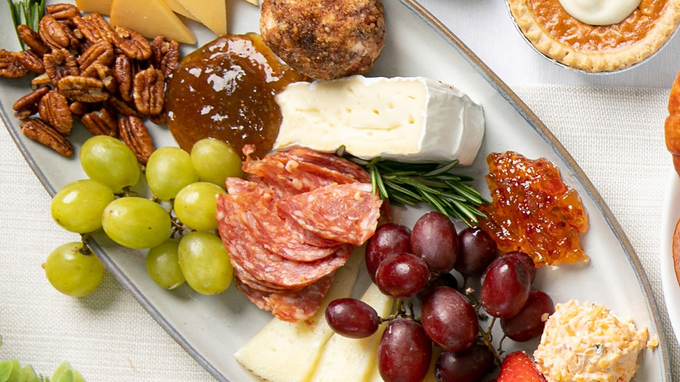 Fall Cheese & Charcuterie Board