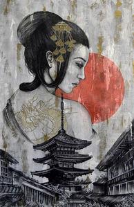 Villeneuve Jessica, peinture Tatsuki.jpg