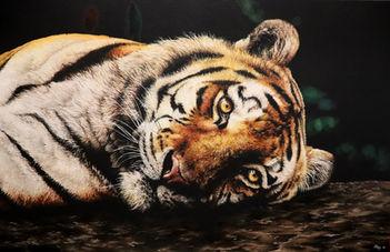 Emilie Lairie, peinture à l'huile, attra