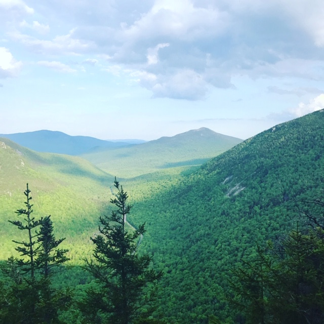 View from the Eyebrow Trail in Grafton Notch