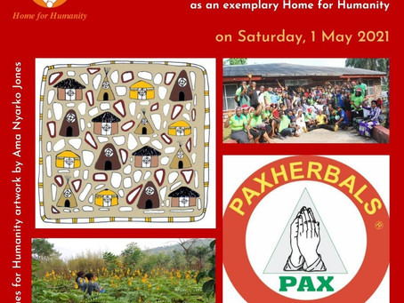 01 May 2021: Launch of a Home for Humanity in Nigeria - The Unique Case of Pax Herbals