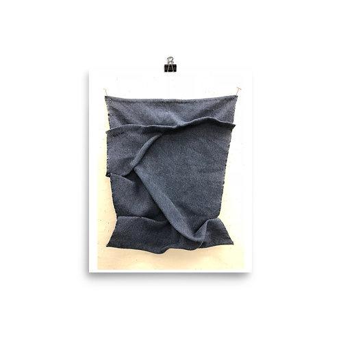 Blue Whale Plain Weave Print- Amadi Greenstein