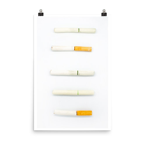 Cigarettes 1 Print - Reniel Del Rosario