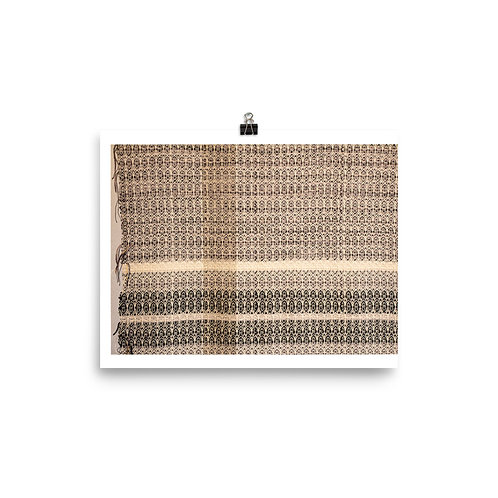 Secluded Silence Print - Amadi Greenstein