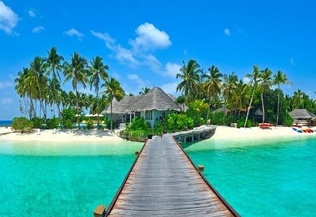 Um paraíso chamado Maldivas