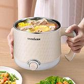 1.8L Electric Hot Pot, Mini Cooker $19.49 << $40.99