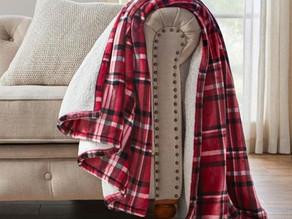 Oversized Plush Sherpa Throw Blanket $14.98 << $29.97 +Free shipping