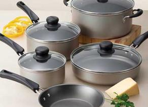 Cookware Set 9 Piece $19.88 << $39.99