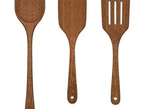 Kitchen Wooden Cooking Utensils 3 Pack Set $13.29 << $18.99