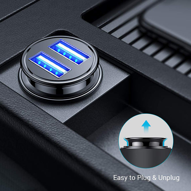 Ainope 4.8A Dual USB Car Charger | Kongdeals은 핫딜, hot deals, 할인쿠폰,아마존 할인코드, 아마존 쿠폰 코드, Amazon, coupons, promo codes, coupon codes, freesbees, sale, clearance 등 미국 쇼핑 채널 세일 및 브랜드 정보 공유