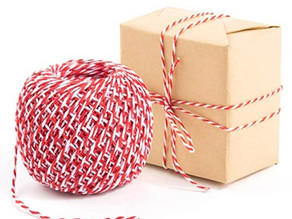 Gift Wrapping Twine String (Red - White) $3.99 << $9.99