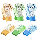 Garden Gloves 6-Pairs $4.90 << $13.99