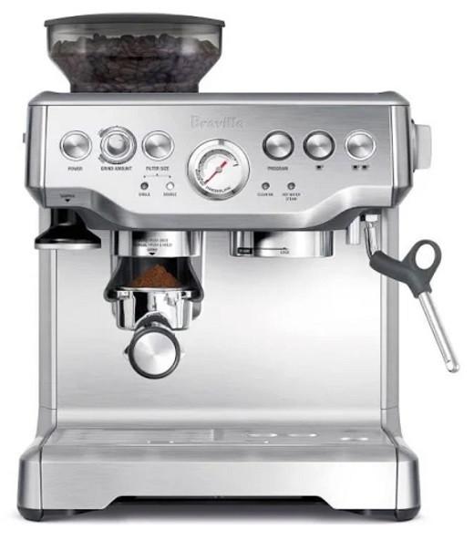 Breville Barista Express BES870XL Programmable Espresso Machine   Kongdeals은 핫딜, hot deals, 할인쿠폰,아마존 할인코드, 아마존 쿠폰 코드, Amazon, coupons, promo codes, coupon codes, freesbees, sale, clearance 등 미국 쇼핑 채널 세일 및 브랜드 정보를 매일 공유