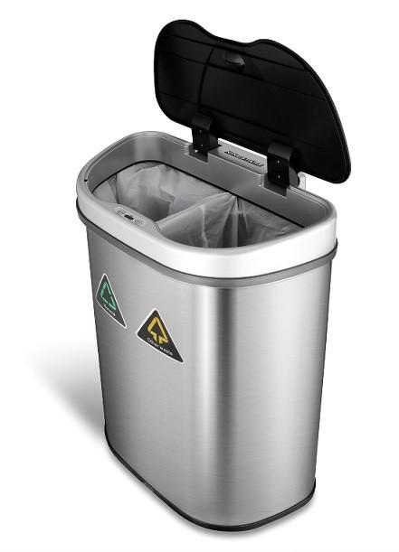 8.5-Gallon Motion Sensor Recycle Unit and Trash Can | Kongdeals은 핫딜, hot deals, 할인쿠폰,아마존 할인코드, 아마존 쿠폰 코드, Amazon, coupons, promo codes, coupon codes, freesbees, sale, clearance 등 미국 쇼핑 채널 세일 및 브랜드 정보를 매일 공유