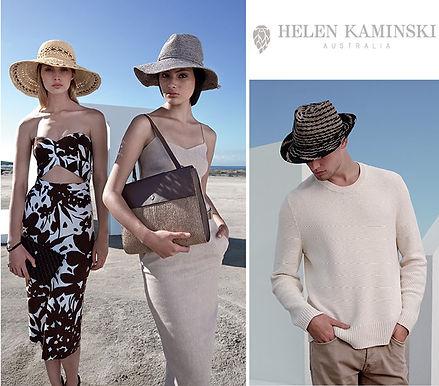 클래식한 명품 모자&가방 HELEN KAMINSKI 👒50% off 세일