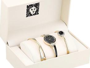 핫딜! 품격있는 선물~ Anne Klein 팔찌 시계 세트 67% Off ⌚$49.99불(<<$150)