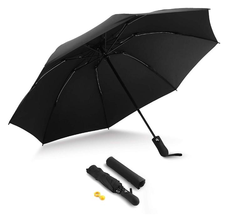 Automatic Compact Travel Umbrella | Kongdeals은 핫딜, hot deals, 할인쿠폰,아마존 할인코드, 아마존 쿠폰 코드, Amazon, coupons, promo codes, coupon codes, freesbees, sale, clearance 등 미국 쇼핑 채널 세일 및 브랜드 정보를 매일 공유