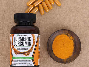 Turmeric Curcumin 강황 90캡슐 $10.69불(<<$17.99) / 아마존 시크릿 할인 코드