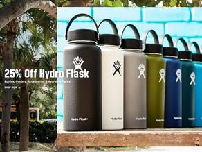 Hydro Flask 하이드로 플라스크 보온&보냉 텀블러 25%Off 세일 / 32oz 보틀 $29.96불(<<$39.95)