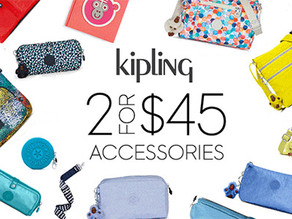 Kipling 가방,필통,지갑 등 2 for $45 / 펜슬케이스 or 크로스바디백 2개 $45불(<<$88)