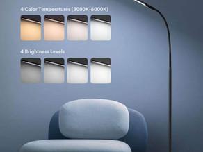 TaoTronics Gooseneck LED Floor Lamp $34.99