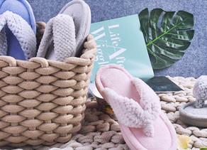 Memory Foam Flip Flop Slippers $8 << $19.99