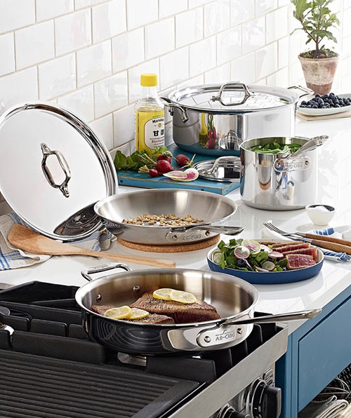 All-Clad Stainless Steel 7-Pc | Kongdeals은 핫딜, hot deals, 할인쿠폰,아마존 할인코드, 아마존 쿠폰 코드, Amazon, coupons, promo codes, coupon codes, freesbees, sale, clearance 등 미국 쇼핑 채널 세일 및 브랜드 정보를 매일 공유