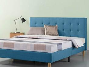 Zinus Platform Upholstered King Bed $150 << $249