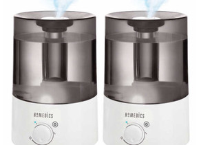 Ultrasonic Cool Mist Humidifier 2-pack $39.99 ($30 Off)