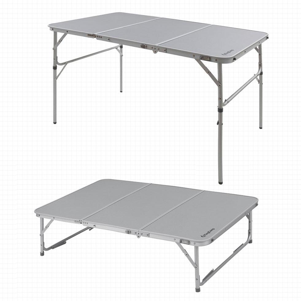 Aluminum Alloy 3-Fold Camp Table | Kongdeals은 핫딜, hot deals, 할인쿠폰,아마존 할인코드, 아마존 쿠폰 코드, Amazon, coupons, promo codes, coupon codes, freesbees, sale, clearance 등 미국 쇼핑 채널 세일 및 브랜드 정보를 매일 공유