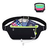 Slim Running Fitness Waist Belt Fanny Pack $5.50 (50% Off)