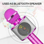 Portable Bluetooth Wireless Microphone Karaoke $12.99 << $25.99