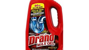 Drano Max Gel Drain Clog Remover $4.80 << $12.20