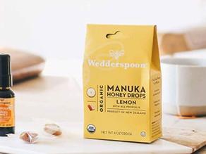 Wedderspoon Organic Manuka Honey Candy 4 Oz $6.82 << $10.53